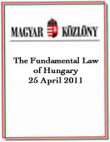 The Fundamental Law of Hungary